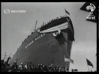 American shipbuilding in Maine (1942)