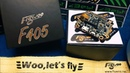 ✔ Полетный Контроллер FLYWOO F405 F4 OSD, 5V, 9V 1.5A BEC ICM20689/MPU6000 Gyro! flywoo