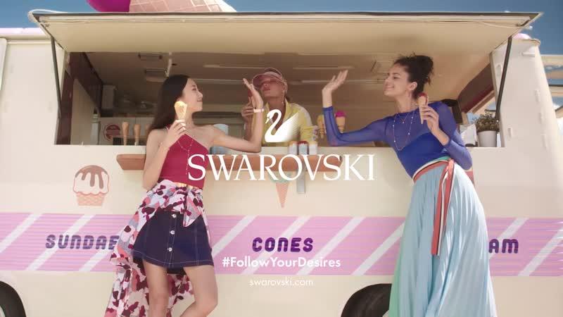 Рекламный ролик Swarovski Reveals the 2019 Summer Collection