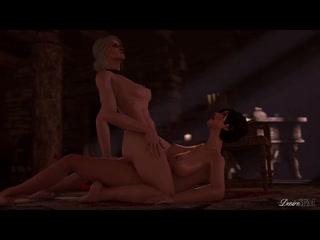 (Sound)Ciri&Fringilia&Keira futanari on female [Witcher 3;Corruption 3;Porn;Hentai;Anal;Dickgirl;;Sex;порно;ведьмак]