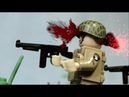 Lego ww2 battle at Brecourt Manor, Normandy, D-Day. Lego Band of brothers film