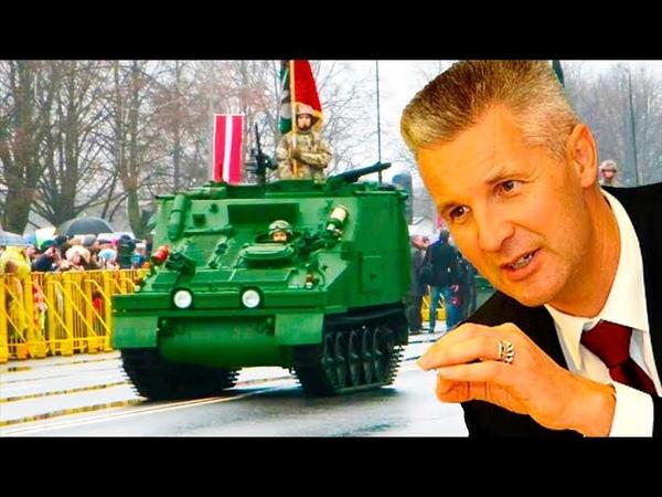 Латвия в позе отражения российских войск в Риге пообещали накостылять России