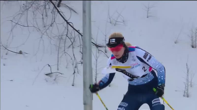 Золото финской ориентировщицы Лиисы Ненонен на средней дистанции