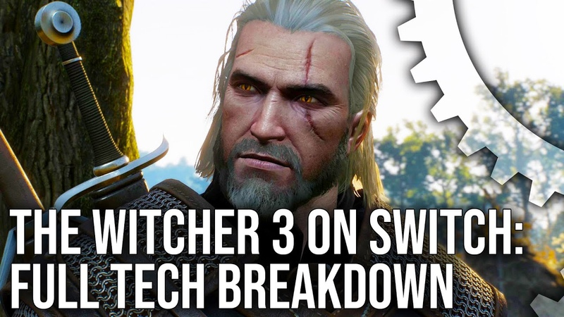 The Witcher 3 on Switch vs PS4 - The Complete Tech Breakdown