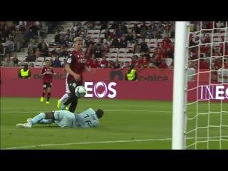 Ligue 1. Видеообзор матча Ницца 2 - 1 Дижон. 6-й тур. г. Сезон 2019-2020