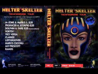 Vortex  Helter Skelter Technodrome Tour