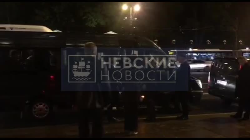 Кристина Бабушкина приехала на свадьбу Бондарчука и Андреевой