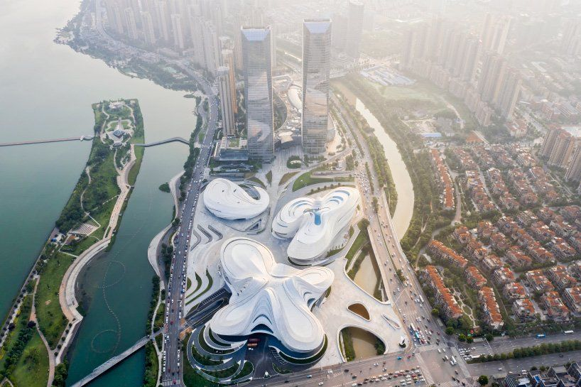 Zaha Hadid architects completes Changsha Meixihu international culture