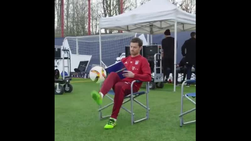 Xabi Alonso. The coolest man on this planet. The only man who can read a book and do kick