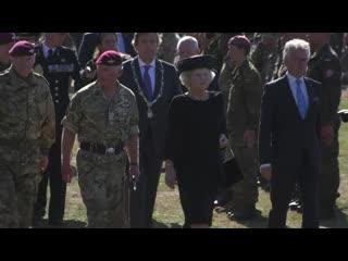 Prince charles joins veterans to mark 75th anniversary of battle of arnhem