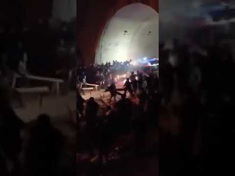 Rioting has broken out in China as hospitals and basic food supplies start to reach breaking point.