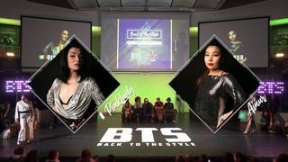 BTS 2019  Waacking 1/2 Final  Pink Lady (Ita) vs Ainur (Kaz)