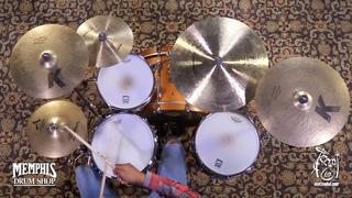 "Used Zildjian 12"" A Custom Master Sound Hi Hat Cymbals - 728/995g (UA20560-1041018B)"