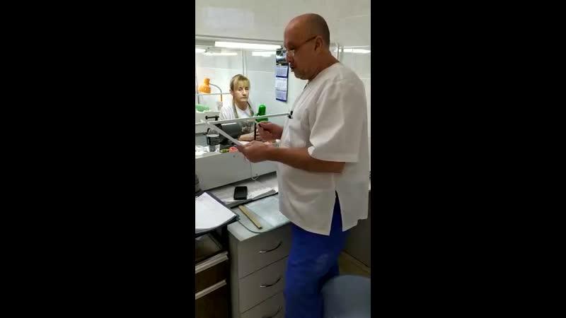 Зав зуботехнической лаб. Всеволжской КМБ Галиахмедов Н.М. опровергает данные администрации об убыточности работы лаборатории.