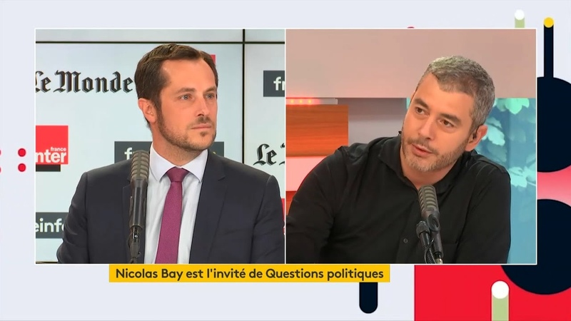 Grosse performance de Nicolas Bay face aux journalistes de France Inter Traoré police Covid etc