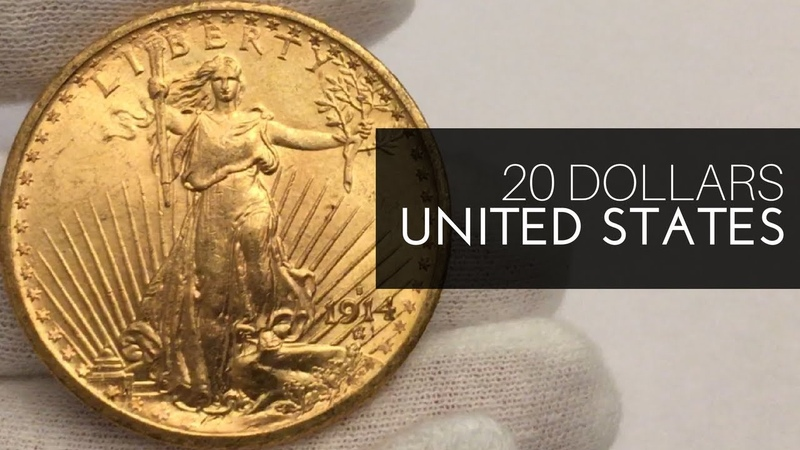 United States Gold 20 Dollars Coin (Saint-Gaudens Double Eagle)