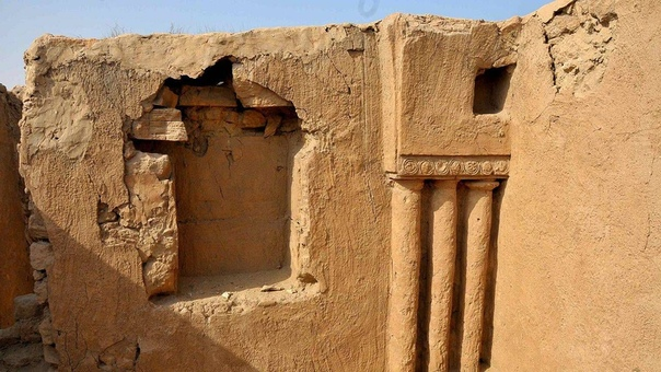 Остатки древнейшего христианского монастыря