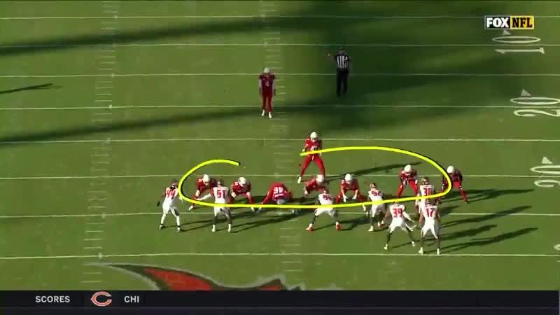 Arizona Cardinals flea flicker on Fake Punt