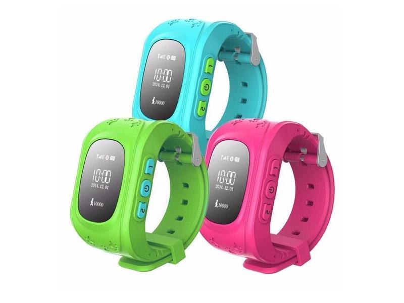 GPS часы для детей помогут контролировать перемещение ребенка