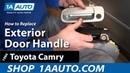 How to Replace Exterior Door Handle 92-96 Toyota Camry