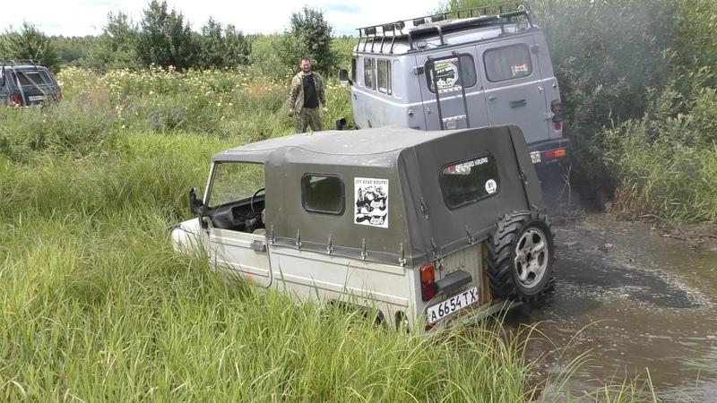 Дизельный Турбо-ЛУАЗ, УАЗы, НИВЫ, Jeep Cherokee на жестком бездорожье
