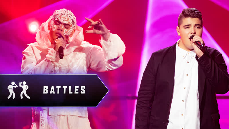 Sheldon Riley vs Jordan Anthony Rabbone Praying The Voice Australia 2019