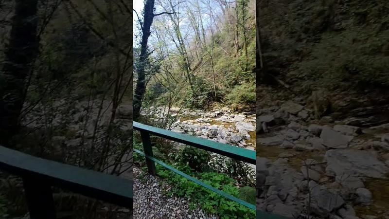 Агурские водопады Орлиные скалы Прометей