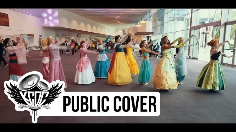 [KPOP IN PUBLIC CHALLENGE] Disney Princesses Cosplay | TWICE | What Is Love | Supanova Perth 2019