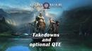God of War (2018) - Finishing moves and optional QTE