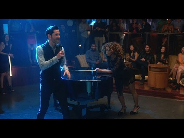 Lucifer 3x17 Lucifer Sings 'I Will Survive'