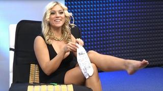 Katie Steiner zeigt ihre Füße! 360°-Shiatsu-Massagekissen bei PEARL TV