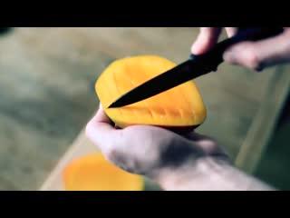 Как правильно разрезать манго