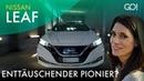 Nissan Leaf - Generation 2 des EV-Pioniers   Cyndie Allemann testet