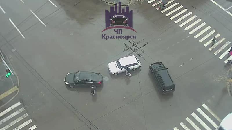 Ленина - Робеспьера 28.10.2019 ЧП Красноярск