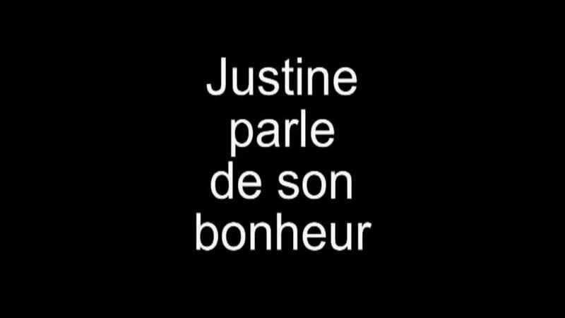 Justine redacchef de Sur presse_Justine,cest quoi le bonheur