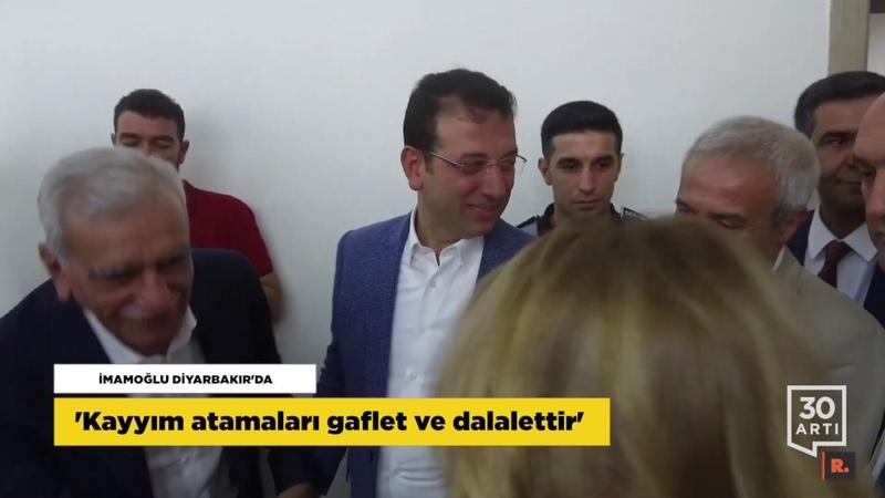 İmamoğlu Diyarbakırda…Cami cemaati birbirine girdi…Doğalgaza yine zam…Türkiyenin ayıbı Kayıplar…