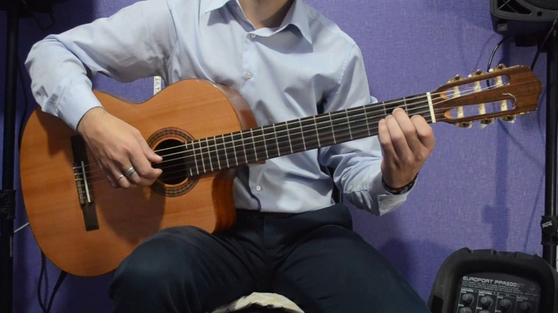 Занятие №3 Аккордовая связка Аккорды C G Em H7 БЕСПЛАТНЫЕ уроки игры на гитаре с нуля