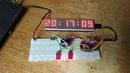 Простенькие часы на DS3231 с сенсорным управлением (полуфабрикат)