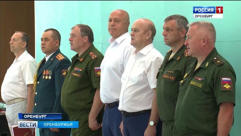 Командирские старты в Оренбурге начались всеармейские соревнования