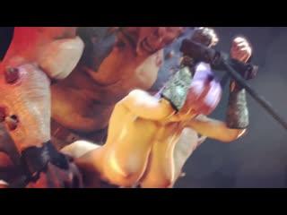Kasumi the slave 2 sex,porno,anal,hentai,3d,аниме,хентай,мульт,анимация,монстр,п