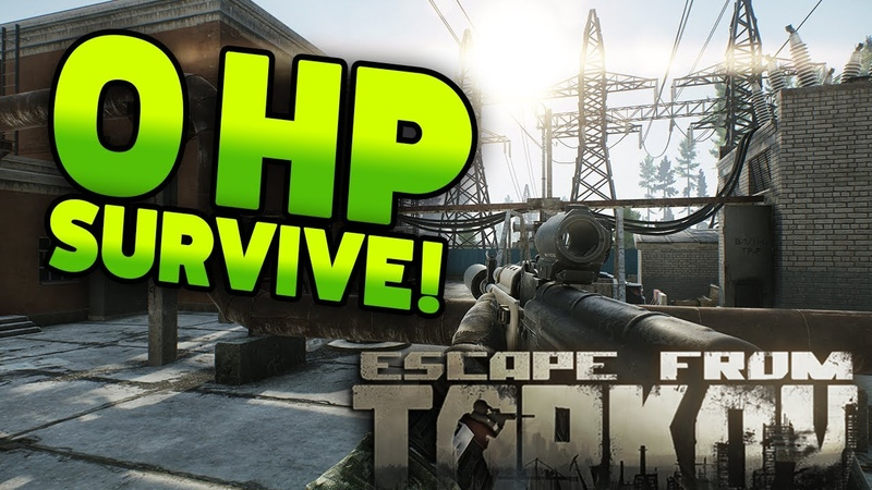 0HP SURVIVE REAL ZOMBIE EFT WTF ep 116 Escape from Tarkov Funny and Epic Gameplay