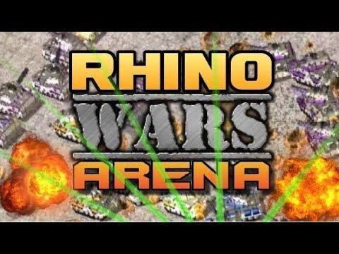 RHINO WARS ARENA Map Red Alert 2 Online Multiplayer