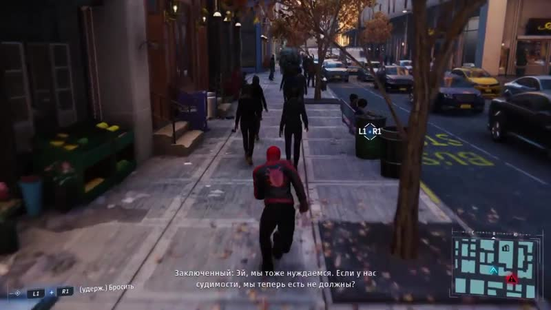 Spider-Man PS4 Just walking on streets