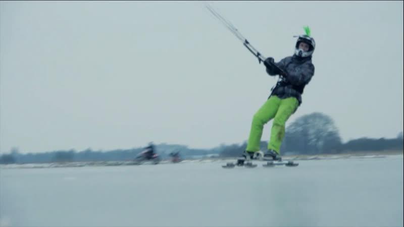 Ice Kiting