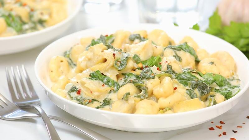 Spinach Artichoke Gnocchi Recipe 15 Minute Fall Comfort Food