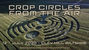 Amazing Crop Circle | 12th July 2020 | Cley Hill, Wiltshire | Crop Circles From The Air