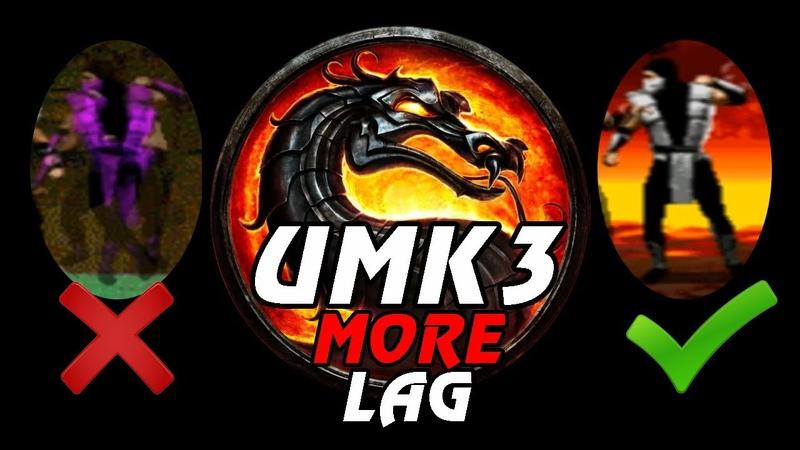 ХАКИ МУГЕНЫ НА NO LAG ЭМУЛЕ Ultimate Mortal Kombat 3 Sega