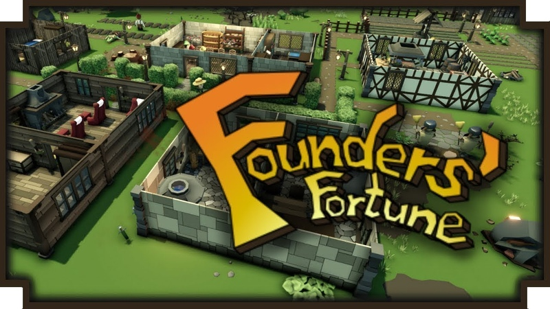 Founders Fortune 1 Фентезийный симулятор колонии первый взгляд 1 СЕЗОН