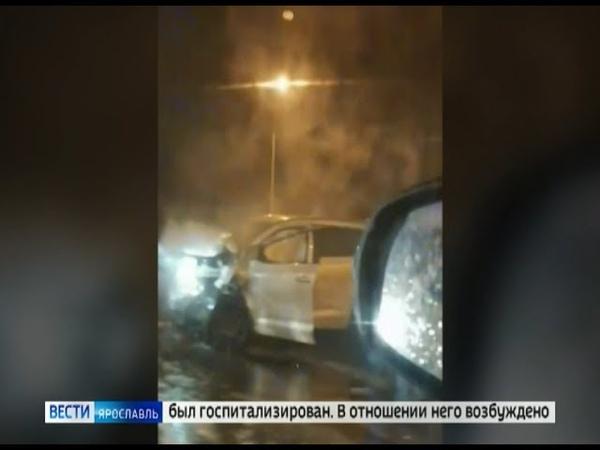 В выходные на ярославских дорогах пострадало несколько человек одной из аварий погибли сразу двое