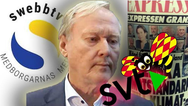 Svensk media attackerar kritikerna Leif Östling, Lars Bern m.fl.